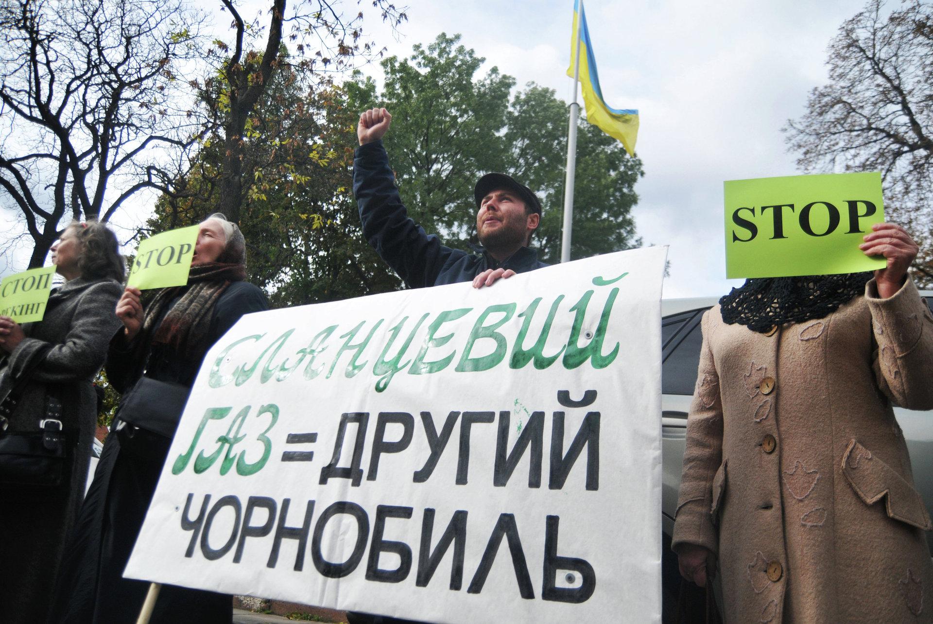 На пути к экологической катастрофе: в 100 км от Донбасса будут добывать сланцевый газ