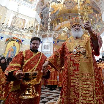 Патриарх Кирилл освятил собор в монастыре Екатеринбурга