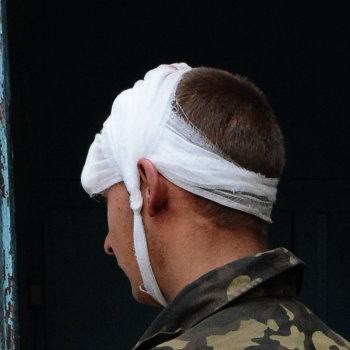 На блокпост Национальной гвардии Украины напали неизвестные