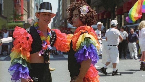 Парад геев и лесбиянок в Нью-Йорке