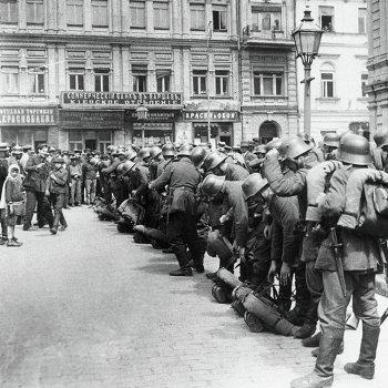 Немецкие войска в Киеве