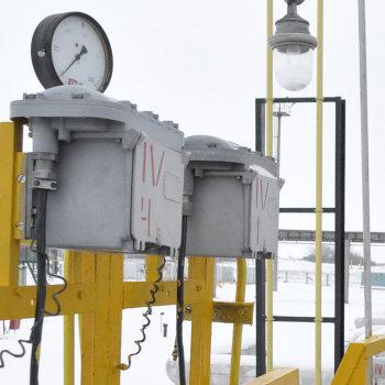 Компрессорная станция Писаревского линейно-производственного управления магистральных газопроводов