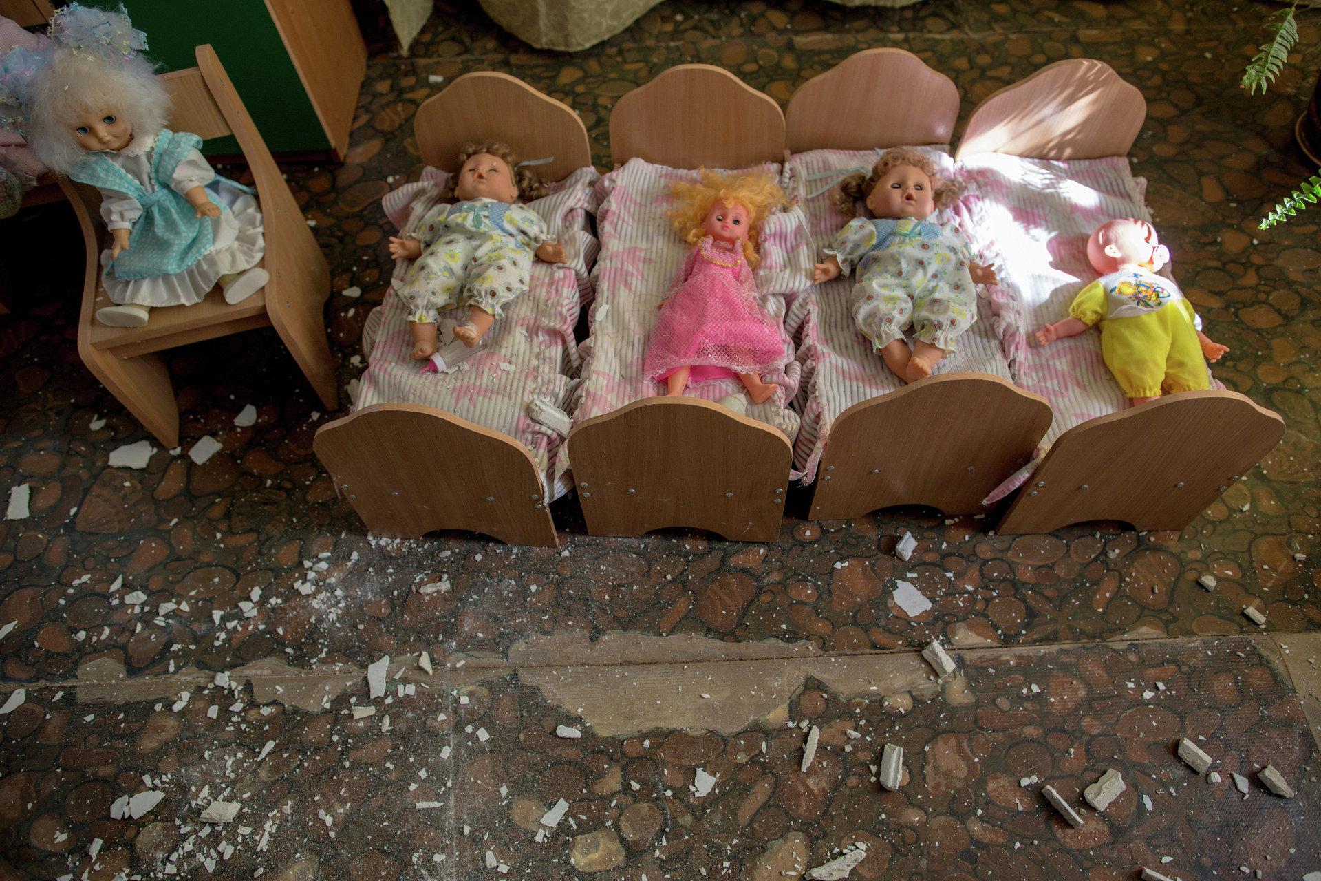 Дети донбасса погибшие фото
