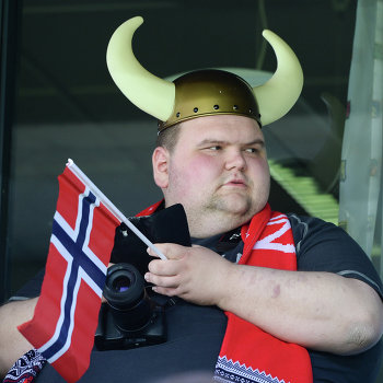 Футбол. Товарищеский матч сборных Норвегии и России