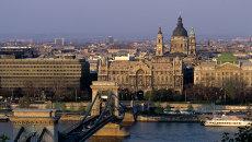 Вид на город Будапешт