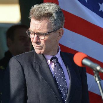Встреча руководства пограничного ведомства с уполномоченным Государственного департамента США В.Нуланд и послом США в Украине Д.Пайеттом