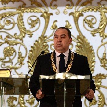 Инаугурация главы ЛНР И.Плотницкого