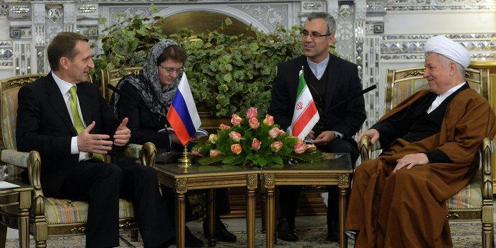 Москва вернула доверие тегерана