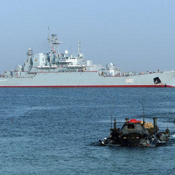Военные маневры Си Бриз-2008 в Крыму