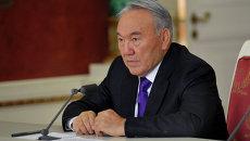 Н.Назарбаев на заседании ЕврАзЭС