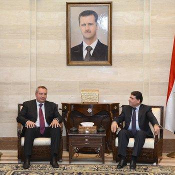 Визит Д.Рогозина в Сирию