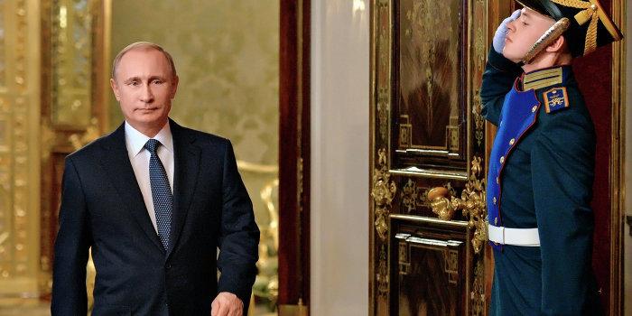 Украинцы проголосовали за Путина