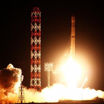 Запуск ракеты-носителя Зенит-2SБ с разгонным блоком ДМ-SLБ и американским телекоммуникационным спутником Intelsat 18