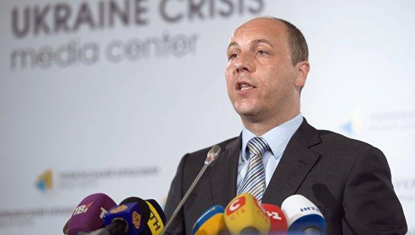 П/к секретаря Совета национальной безопасности и обороны Украины Андрея Парубия