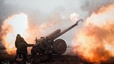 Украинская артиллерия открыла огонь по Докучаевску