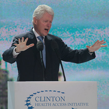 Экс-президент США Билл Клинтон посетил Киев