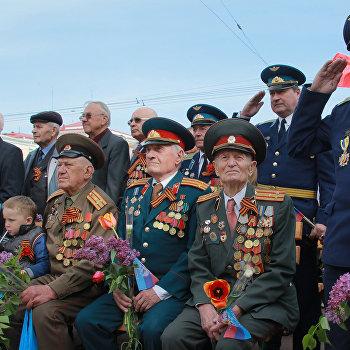 Праздничные мероприятия, посвященные 9 мая в Луганске