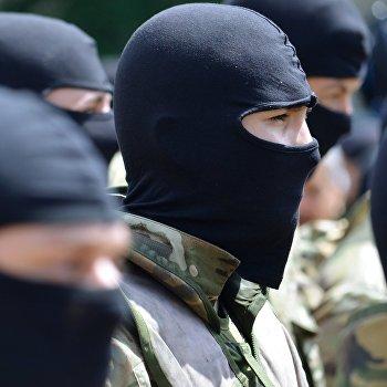 Присяга батальона Азов в Киеве