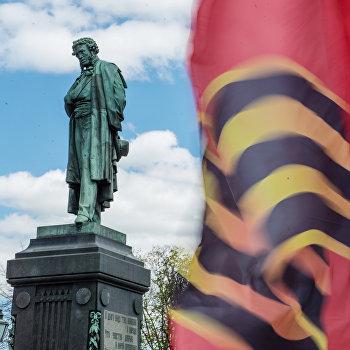 Москва в преддверии Дня Победы