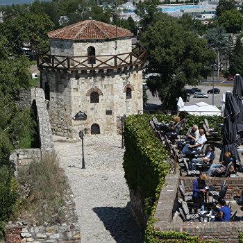 Башня крепости Калемегдан в Белграде