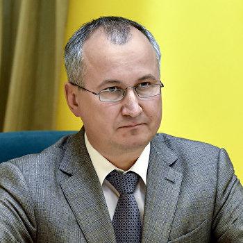 Президент Украины П.Порошенко представил нового главу СБУ
