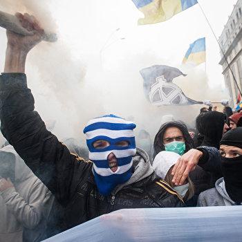 Марш по случаю 70-летия Украинской повстанческойармии