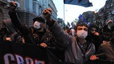 В Тернополе «свободовцы» сорвали сессию горсовета