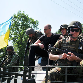 Украино-американские учения Fearless Guardian - 2015