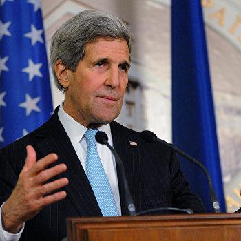 Визит Госсекретаря США Дж.Керри в Киев