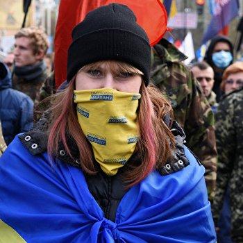Акции в украинских городах в День защитника Украины
