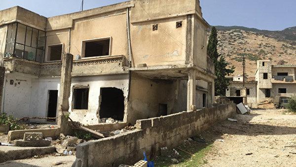 """Сирийская армия освободила от боевиков """"Фронта ан-Нусра"""" деревню Саф-Сафа в провинции Хама"""