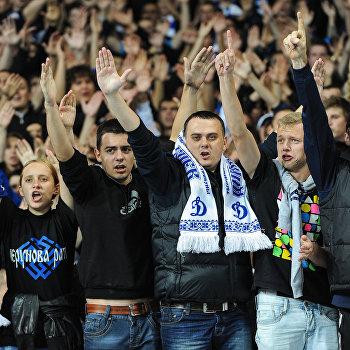 Футбол. Лига Чемпионов. Матч Динамо (Киев) - Динамо (Загреб)