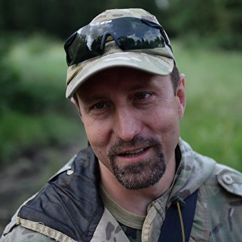 Тренировочный лагерь батальона Восток в Донецкой области