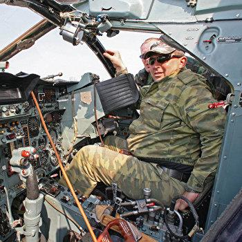 Эскадрилья штурмовиков Су-24М авиации Балтийского флота на военном аэродроме в Черняховске