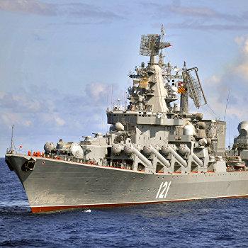Продолжается дальний поход атомного крейсера Петр Великий