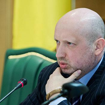 А.Турчинов провел совещание в Киеве с главами областных администраций