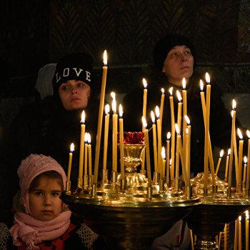 Празднование Рождества Христова в Киево-Печерской лавре