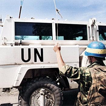 Миротворцы ООН в Грузии