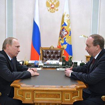 Президент РФ В.Путин встретился с временно исполняющим обязанности губернатора ЕАО А.Левинталем