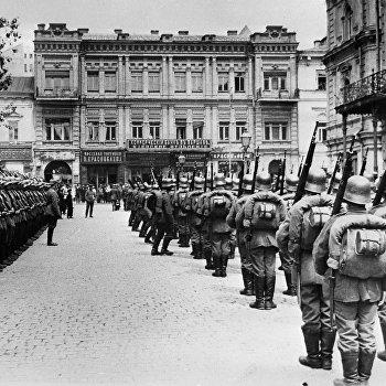 Немецкие интервенты в Киеве