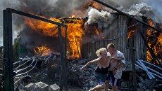 Фотограф МИА «Россия сегодня» выпустил мультимедийный проект «Черные дни Украины»