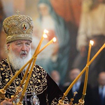 Патриарх Кирилл совершил литургию в день своей интронизации