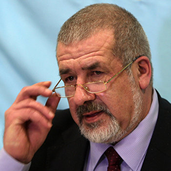 Пресс-конференция Р.Чубарова по поводу референдума о статусе Крыма