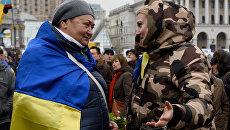 """Годовщина """"оранжевой"""" революции в Киеве"""