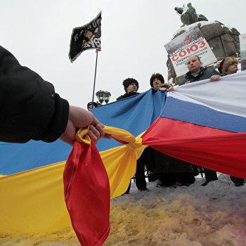 Празднование годовщины Переяславской Рады в Киеве