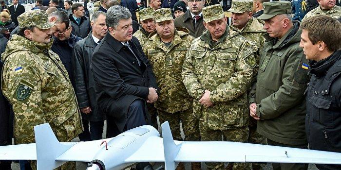 ВУкраинском государстве испытали ударный беспилотник