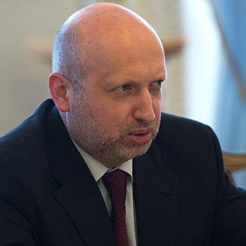 Встреча О.Турчинова с М.Олбрайт