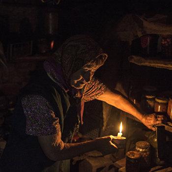 Жизнь в селе Веселом в Донецкой области