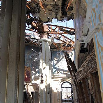 Храмы в Донецке, разрушенные в ходе боевых действий