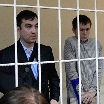Суд Киева продлил арест россиянам Е.Ерофееву и А.Александрову